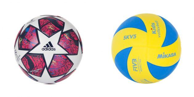Подарок мальчику: спортивный мяч