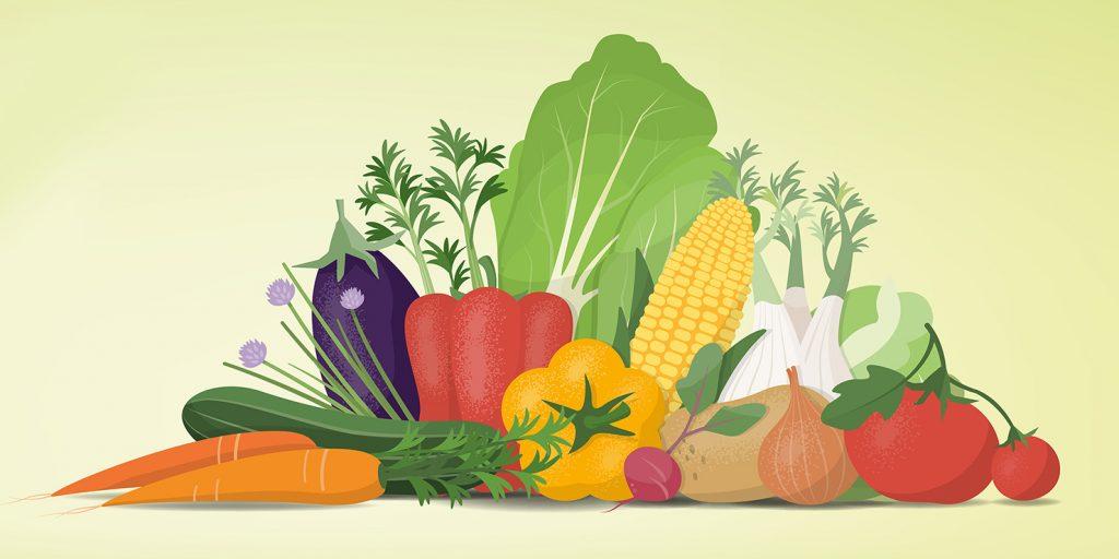 Закажите овощи и зелень