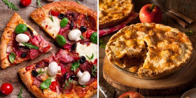 Доставка пиццы и пирогов