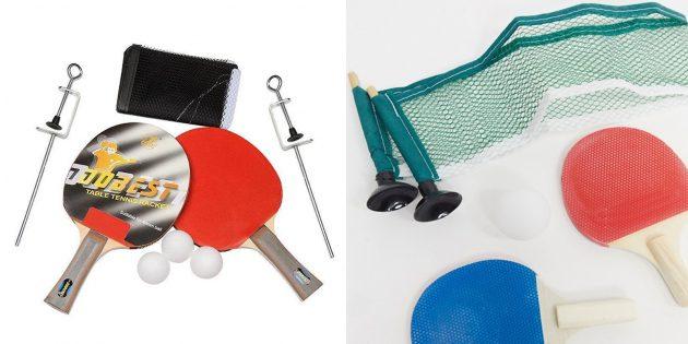 Что подарить подростку: переносной набор для настольного тенниса