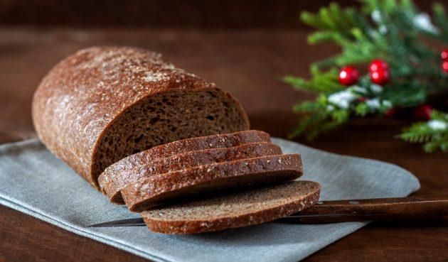 Ржаной хлеб с тмином в духовке