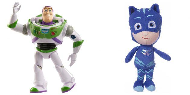 Подарки для мальчиков: игрушка в виде героя мультфильма