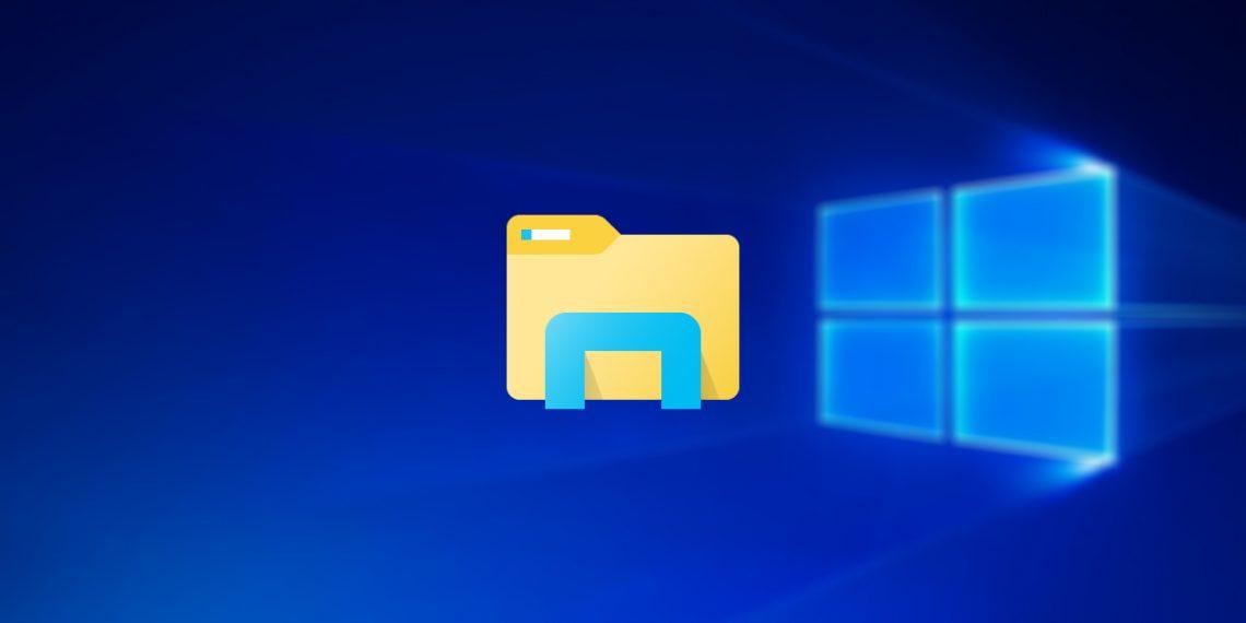 Microsoft показала новый «Проводник» для Windows 10X