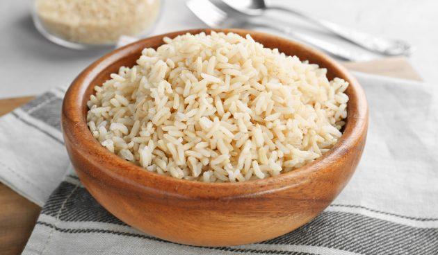 Рассыпчатый рис с лимоном