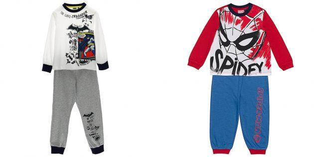 Подарки для мальчиков: пижама в стиле любимого супергероя
