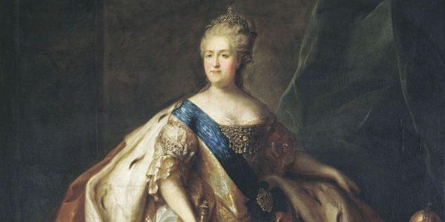 Екатерина Великая умерла, занимаясь сексом с конём