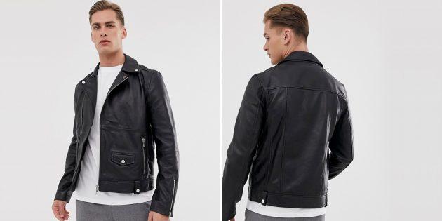 Байкерская куртка от Barney's Originals