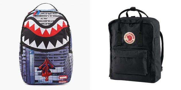 Подарки для мальчика: модный и вместительный рюкзак