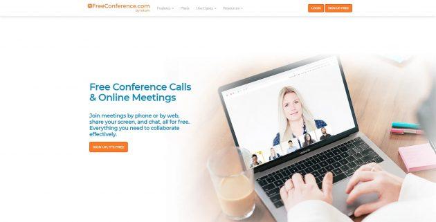 Бесплатные видеоконференции: FreeСonference