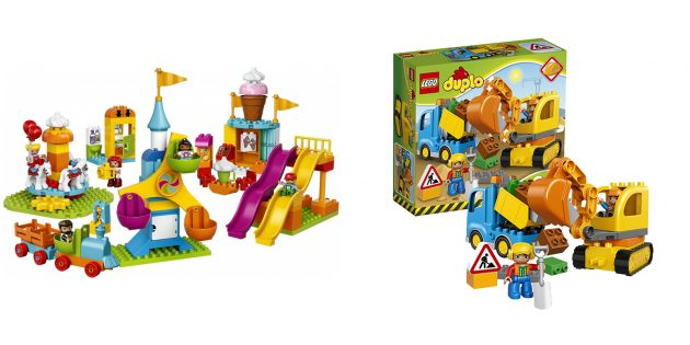 Подарки для мальчика: конструктор Lego Duplo