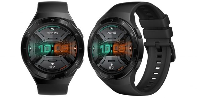 Huawei представила новые смарт-часы GT2e. Они работают до 2 недель без подзарядки