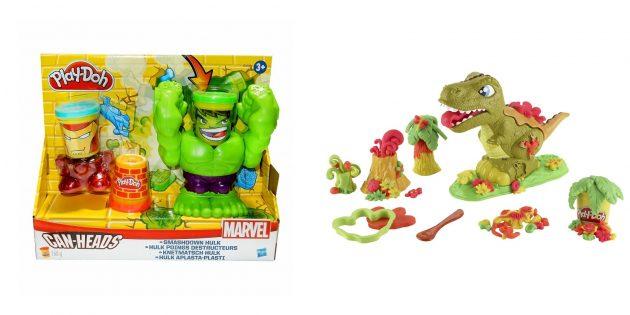 Подарки для мальчика: игровой набор Play-Doh
