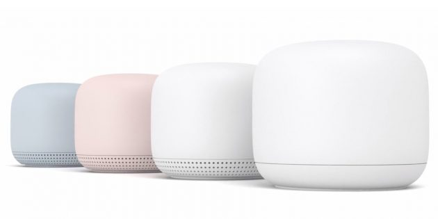 Устройства Google: интернет-станция Nest Wi-Fi