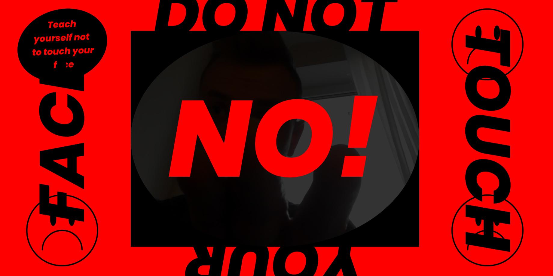 Сайт DoNotTouchYourFace отучит вас трогать своё лицо