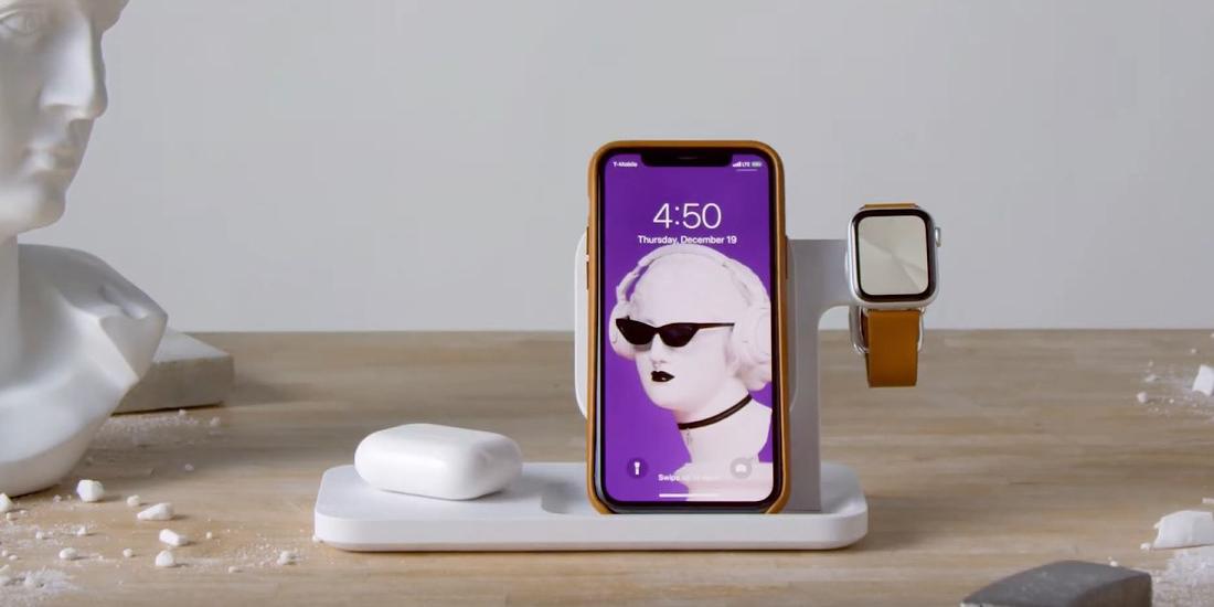 Logitech представила беспроводную зарядку для iPhone