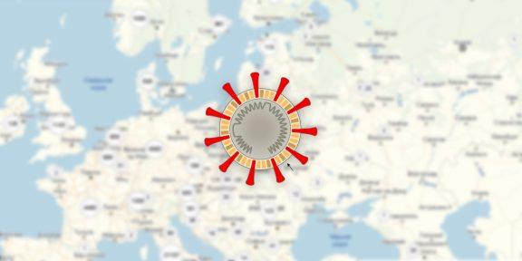«Яндекс» представил онлайн-карту распространения коронавируса