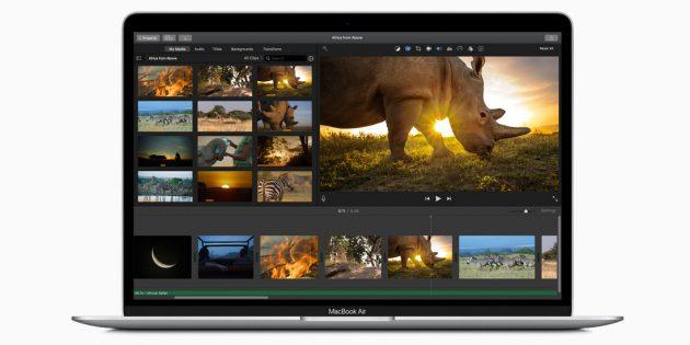 Apple представила новый MacBook Air с улучшенной клавиатурой