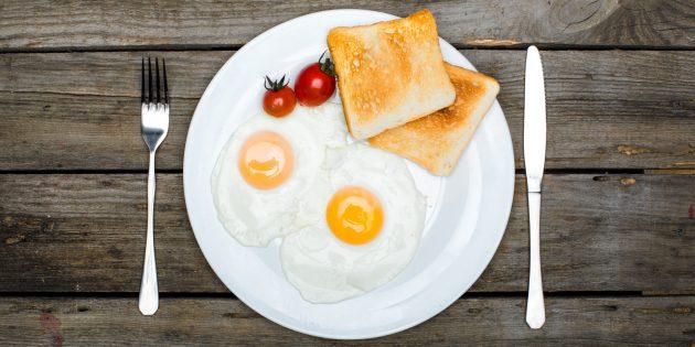 Завтрак из яиц улучшает холестериновый профиль