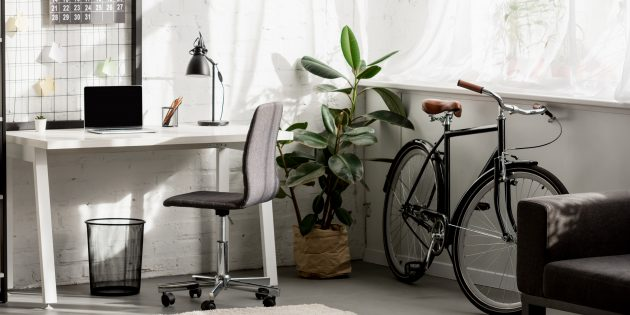 Как обустроить домашний офис: настройте освещение