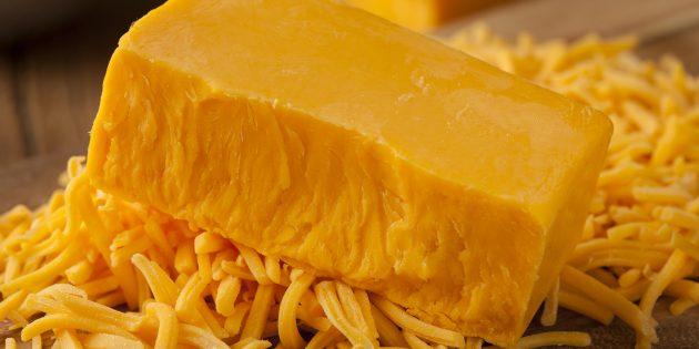 Продукты с высоким содержанием йода: сыр