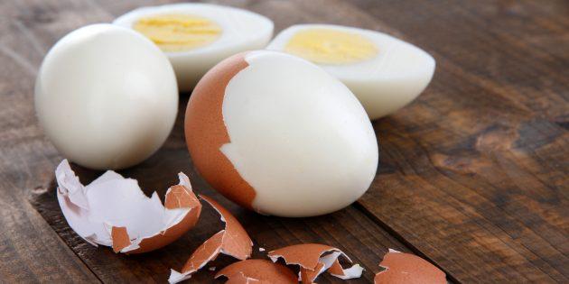 Завтрак из яиц снабжает организм высококачественным белком