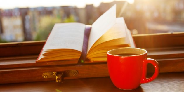 Чем заняться дома: читайте книги