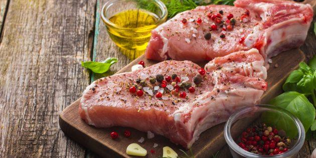 В каких продуктах содержится цинк: свинина