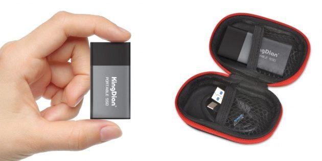 Внешний SSD-диск KingDian