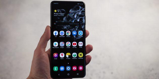 Обзор Samsung Galaxy S20Ultra