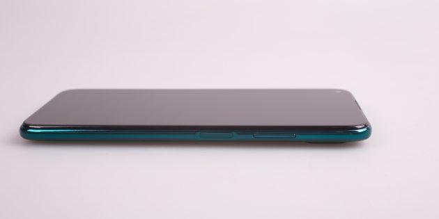 Huawei P40Lite: кнопки включения устройства и управления громкостью