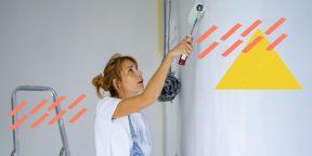 Как покрасить стены тем, кто вообще не маляр