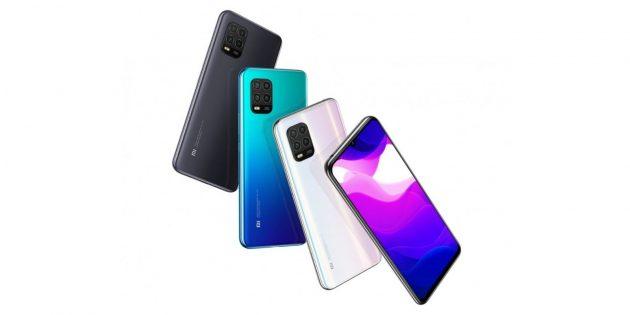 Новые смартфоны: Xiaomi Mi 10Lite 5G