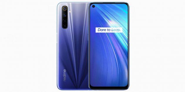 Новые смартфоны: Realme 6Pro