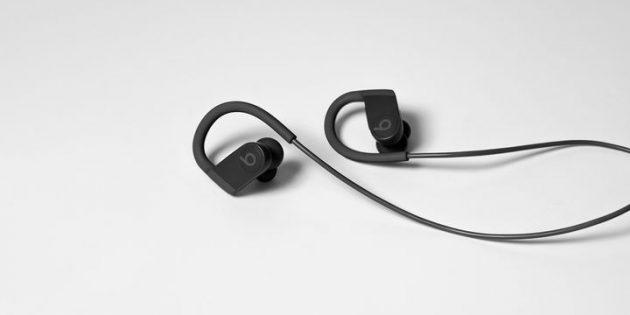 Apple представила обновлённые наушники Powerbeats. Они работают 15 часов без подзарядки