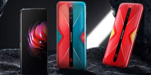 Новые смартфоны: Nubia Red Magic 5G