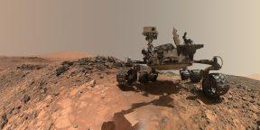 Ровер Curiosity снял панораму Марса в рекордном разрешении