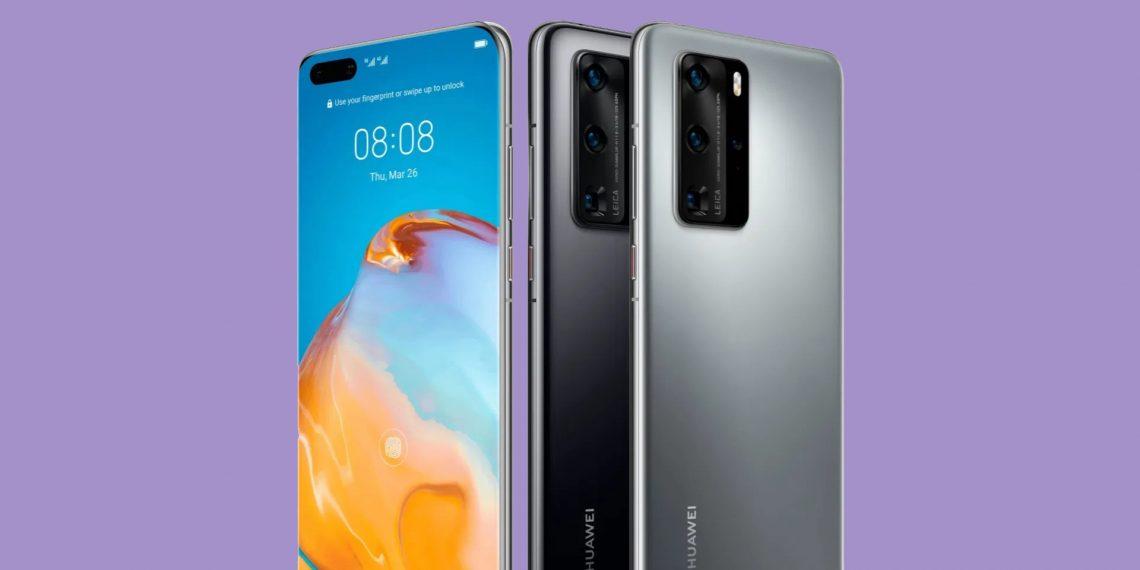 Huawei представила флагманы P40 и P40 Pro