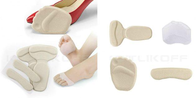 Вкладки для обуви