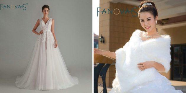 8магазинов на AliExpress для подготовки к свадьбе: Asa Fashion Wedding Dresses