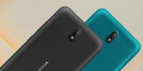 """Nokia C2 — компактный бюджетник с экраном 5,7"""", поддержкой 4G и Android Go"""