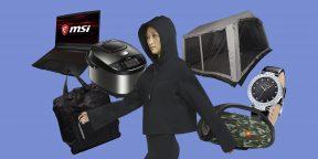 Скидки на ноутбук MSI, куртку Nike Air, тент Outventure и другие дорогие товары
