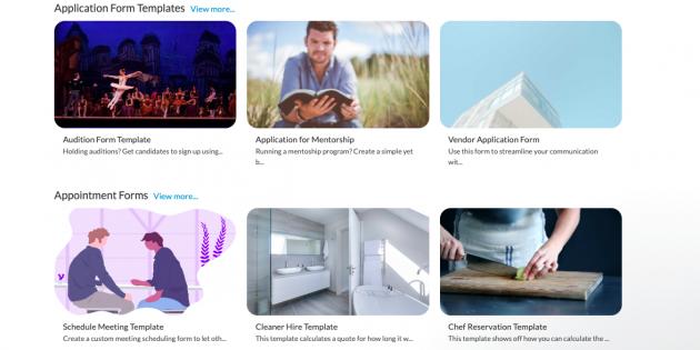 Paperform — простой конструктор онлайн-форм для бизнеса