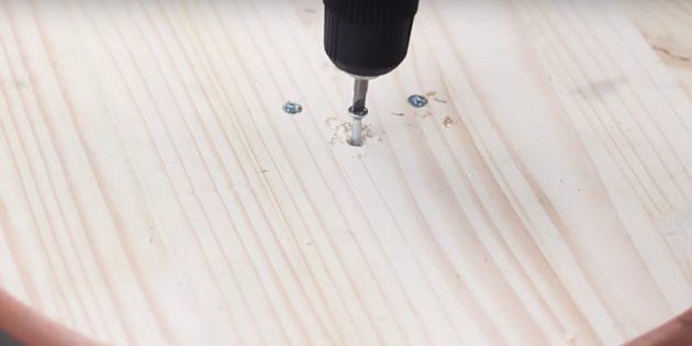 Как сделать когтеточку: соедините деревянные детали