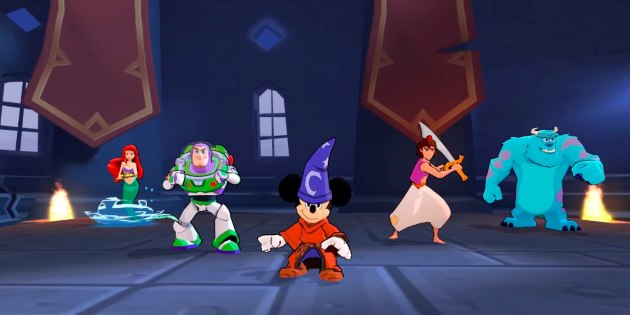 Hа iOS и Android вышла игра «Disney Волшебный Турнир» с сотнями знакомых героев