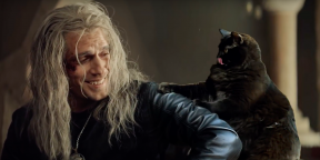 Видео дня: что, если бы у Геральта был кот