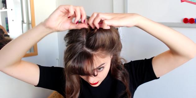 Причёски с чёлкой: результат зафиксируйте невидимками