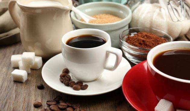 Кофе с тёмным шоколадом