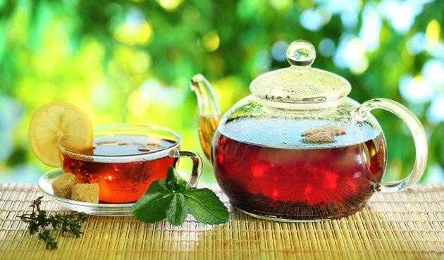 Цитрусовый чай с пряностями