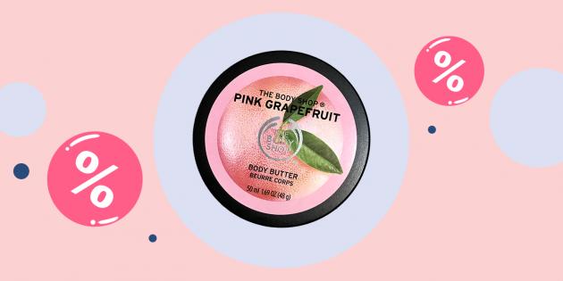 Промокоды дня: скидка 25% на почти все товары в The Body Shop