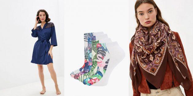 что подарить на 8 марта: Одежда и аксессуары